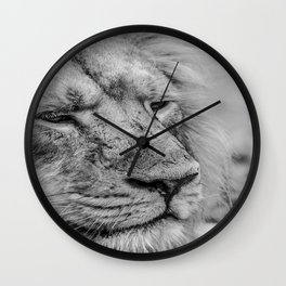 Face Of Thought Wall Clock
