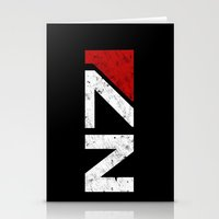 n7 Stationery Cards featuring N7 by adho1982