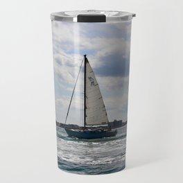 Fifty Percent Sailing Travel Mug