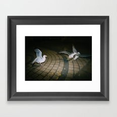 Seagulls of Anarchy Framed Art Print