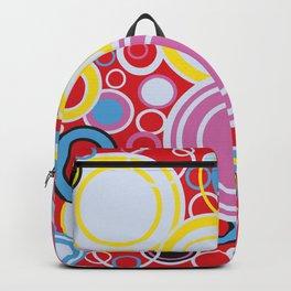 Pop Art Colour Circles Backpack