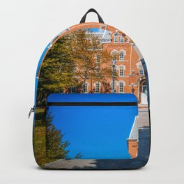 Ohio Campus Fall Vertical Print Backpack