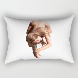 Cat Crawl Rectangular Pillow