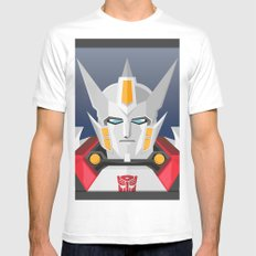 Drift MTMTE White Mens Fitted Tee MEDIUM