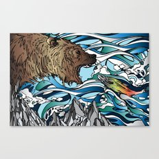 Catch Canvas Print