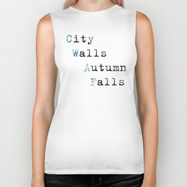 City Walls Autumn Falls Baby Onsie Biker Tank