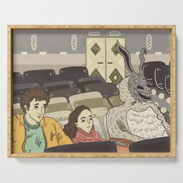 Donnie Darko fanart Serving Tray