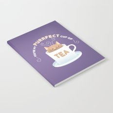 You're my Purrfect Cup of Tea Cat Notebook