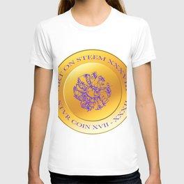stvr COIN Art On Steem T-shirt