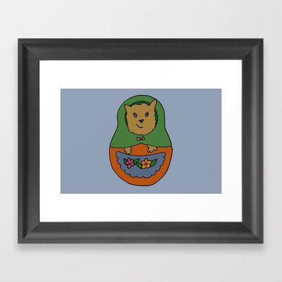 Piptroyshka Framed Art Print