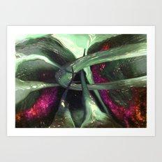 the light GREW Art Print