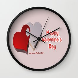Valentine's Puzzle Wall Clock