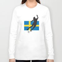 sweden Long Sleeve T-shirts featuring Sweden - WWC by Alrkeaton