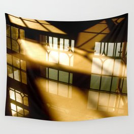 REFLECTIONS IN YELLOW Wall Tapestry