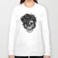 dead Long Sleeve T-shirts featuring Dead Duran by Rachel Caldwell