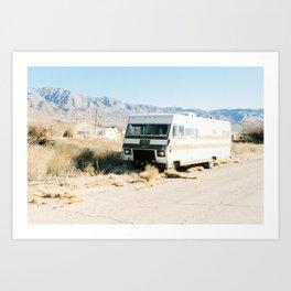 Motor Home Art Print