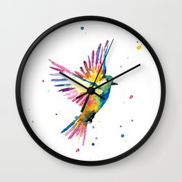 Freedom Feathers Wall Clock