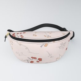 Ditsy Berries Fanny Pack