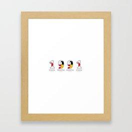1991 - NAVY - My Year of Birth Framed Art Print