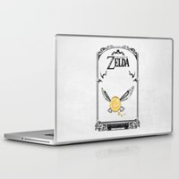 majora Laptop & iPad Skins featuring Zelda legend - Navi by Art & Be
