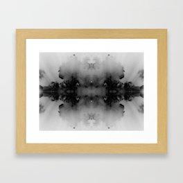 Inkblot Framed Art Print