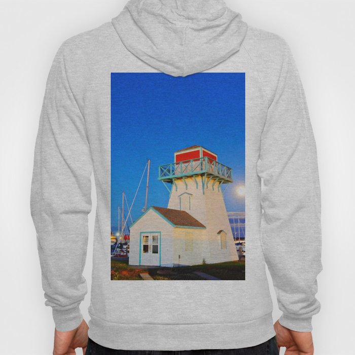 Summerside Harbour lighthouse Hoody