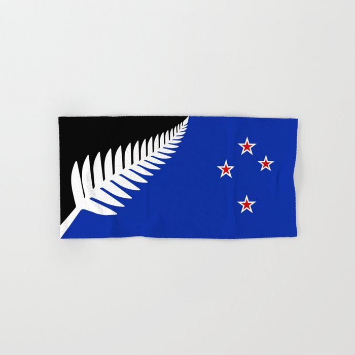 NZ flag (that nearly made it) 2016 Hand & Bath Towel