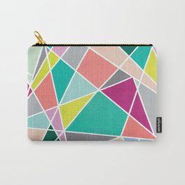 Geometric Spotlights Carry-All Pouch