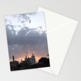 Flying over Rome Stationery Cards