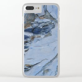 painted knot Clear iPhone Case