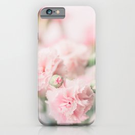 Pink Carnations iPhone Case