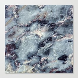 Blue Bayou Marble Canvas Print