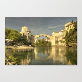 The Old Bridge at Mostar Canvas Print