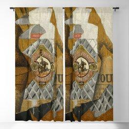 """Juan Gris """"La bouteille d'anis"""" Blackout Curtain"""