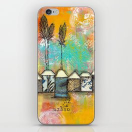 one fine day at the bach iPhone Skin