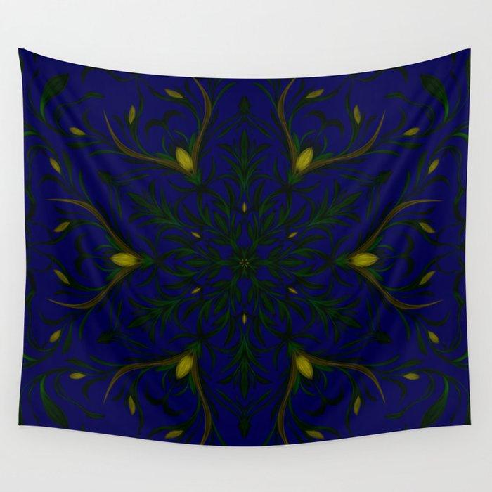 Sea of Shining Seaweed Wall Tapestry