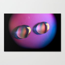 Coloured water Canvas Print