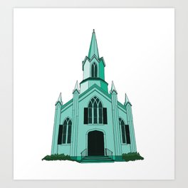 Union Church Art Print