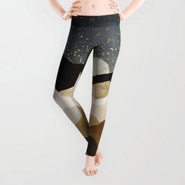 Golden Stars Leggings