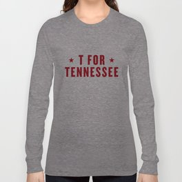 T FOR TENNESSEE Long Sleeve T-shirt