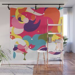 Colorful Circus Wall Mural