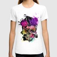kindle T-shirts featuring 128@AllSkull™ by ALLSKULL.NET