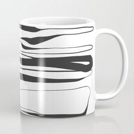 Abstract Line No. 72 Coffee Mug