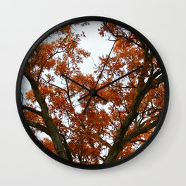 Lost in Vermillion No.1 Wall Clock