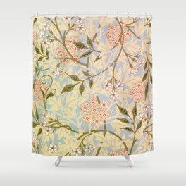 12,000pixel-500dpi - William Morris - jasmine - Digital Remastered Edition Shower Curtain