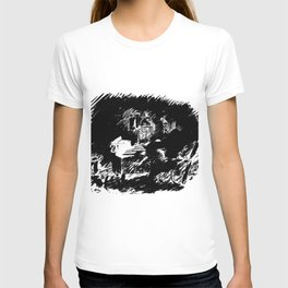 Edouard Manet - The raven by Poe 5 T-shirt