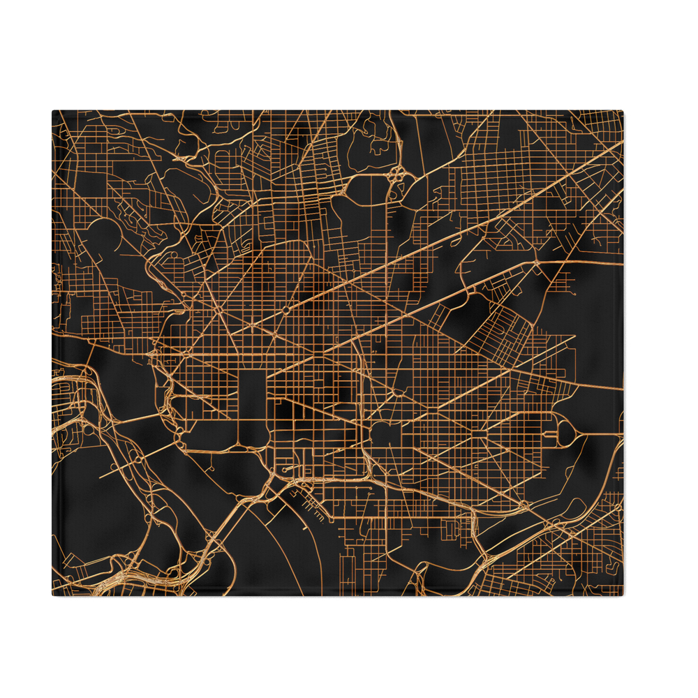 Washington_map_Throw_Blanket_by_annago