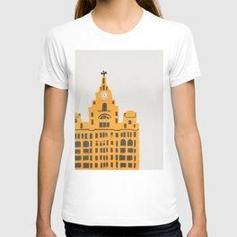 Liver Building Liverpool T-shirt