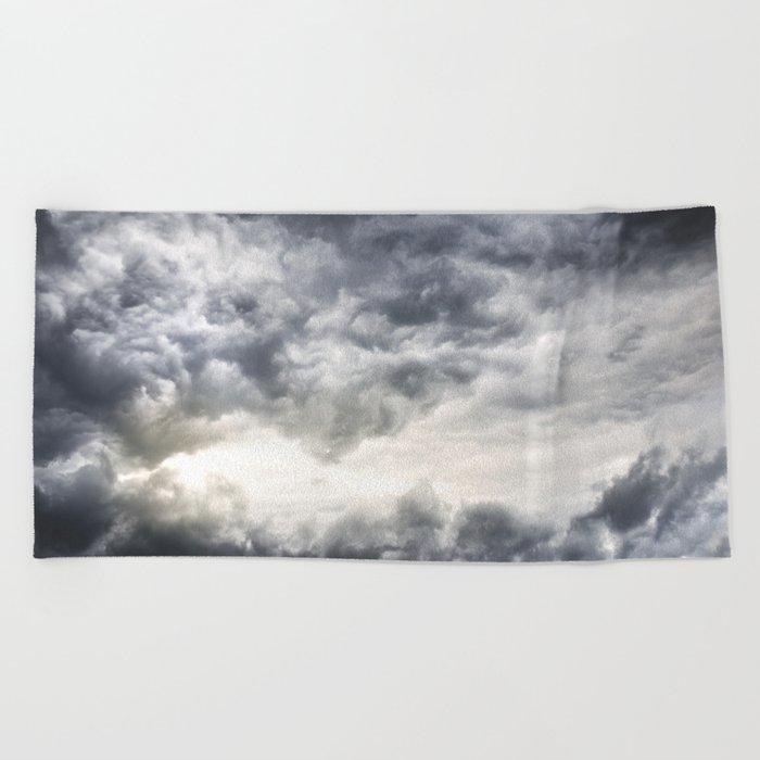 Cloudio di porno Beach Towel