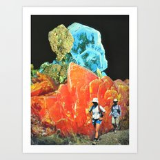 Sorry Safari Art Print